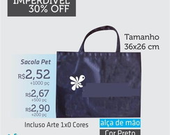 sacola pet promo��o imperdivel