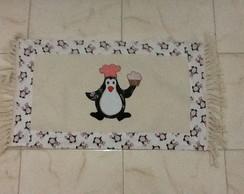 Jogo Passadeira 3 pe�as - Pinguim