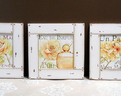 Mod8. Kit 3 Quadros Parfums