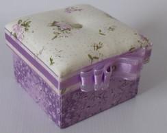 Mini caixa lil�s