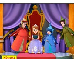 R�tulo Para Batom Princesa Sofia