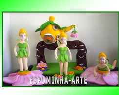 kit tinkerbell 4 pe�as