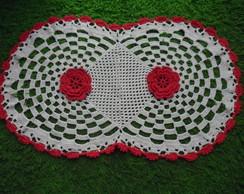 Tapete De Croch� Flor