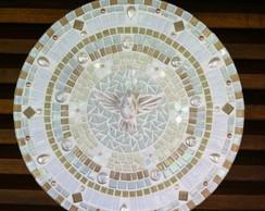 Mandala Divino Esp�rito Santo branca