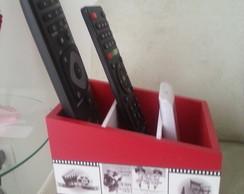porta controle remoto personalizado 3div