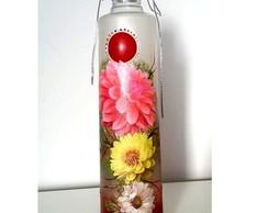Garrafa Decorativa de Flores