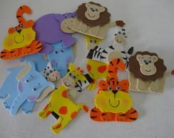 Safari lembrancinhas com �m� com 25 unid