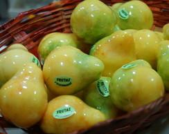 Sabonete artesanal de pera