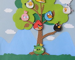 Painel Scrap Angry Birds
