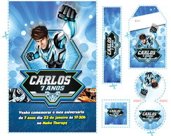 Kit Max Steel Modo Turbo (ms01)