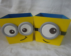 Cachepots dos Minions