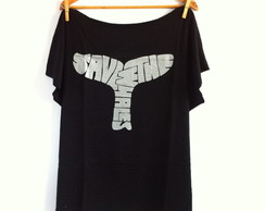 T-shirt Plus Size Salve as Baleis