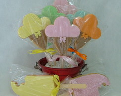Biscoitos Decorados - Sorvete/Picol�