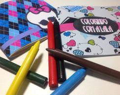 Brochura+Giz De Cera - Monster High