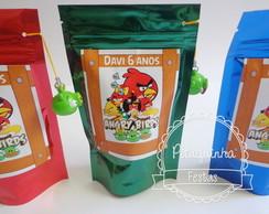 Saquinho Metalizdo Angry Birds