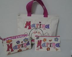 Conjunto de bolsas personalizadas