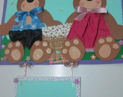 Kit decora��o sala de aula - Ursinhos