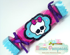 Caixa Bala Monster High em Scrap