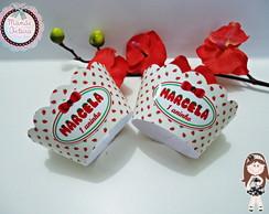 Wrapper para Cupcake Tema Moranguinho