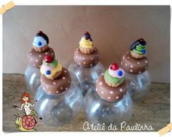 baleiro decorado cupcake
