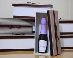 Caixa para mini espumante ou mini vinho