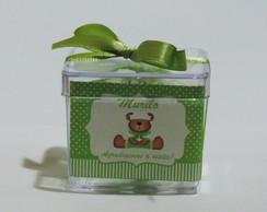 Caixa Acr�lica Ursinho Maternidade