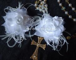 Arranjo de noiva, com duas flores