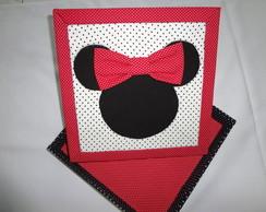 Caixa Patchwork Minnie