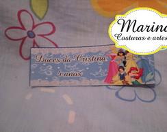 F GR�TIS 20 Adesivos Princesa maletinhas