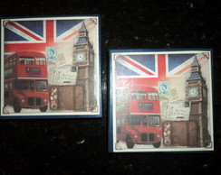 "Conjunto de caixas quadradas ""London"""