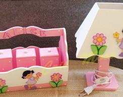Kit higiene menina flor
