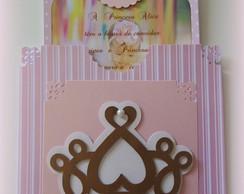 Convite Princesa Proven�al Coroa