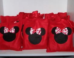 Sacolinha da Minnie ou Mickey - Disney