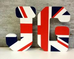 Letras Decorativas Iniciais Reino Unido
