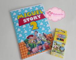Kit Livrinho De Pintura Toy Story 01
