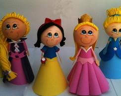 Princesas da Disney em E.V.A