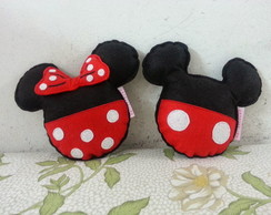 Mini Almofadas Mickey e Minnie