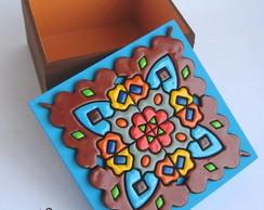 Caixa Quadrada MOSAICO MAGO
