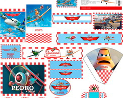 Kit Festa Digital Avi�es Disney