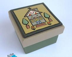 Caixa Quadrada CASINHAS 3