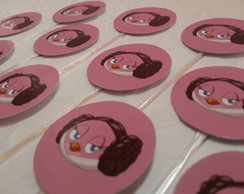 Toppers Para Docinhos - Angry Birds