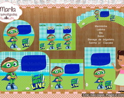 Kit festa digital Super Why