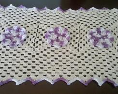 tapete em croch�