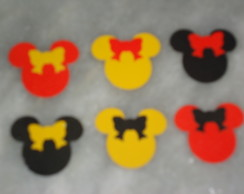 100 carinhas da minnie de scrap