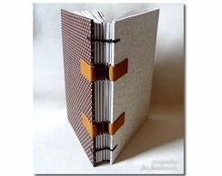 Caderno Bege/Marrom