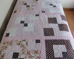 Colcha solteiro patchwork