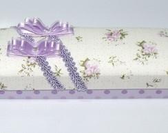 Porta-l�pis lil�s tampa almofada