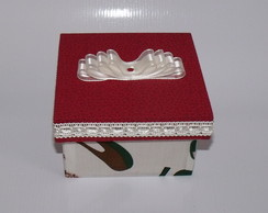 Mini Caixa com Tecido de sapato