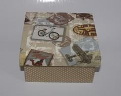 Mini Caixa estampa recorda��es
