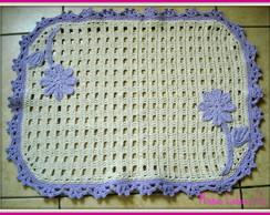 Jogo de banheiro, em crochet